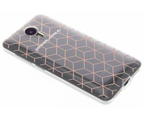Cubes design TPU hoesje General Mobile 4G / GM5