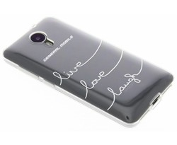 Quote design TPU hoesje General Mobile 4G / GM5