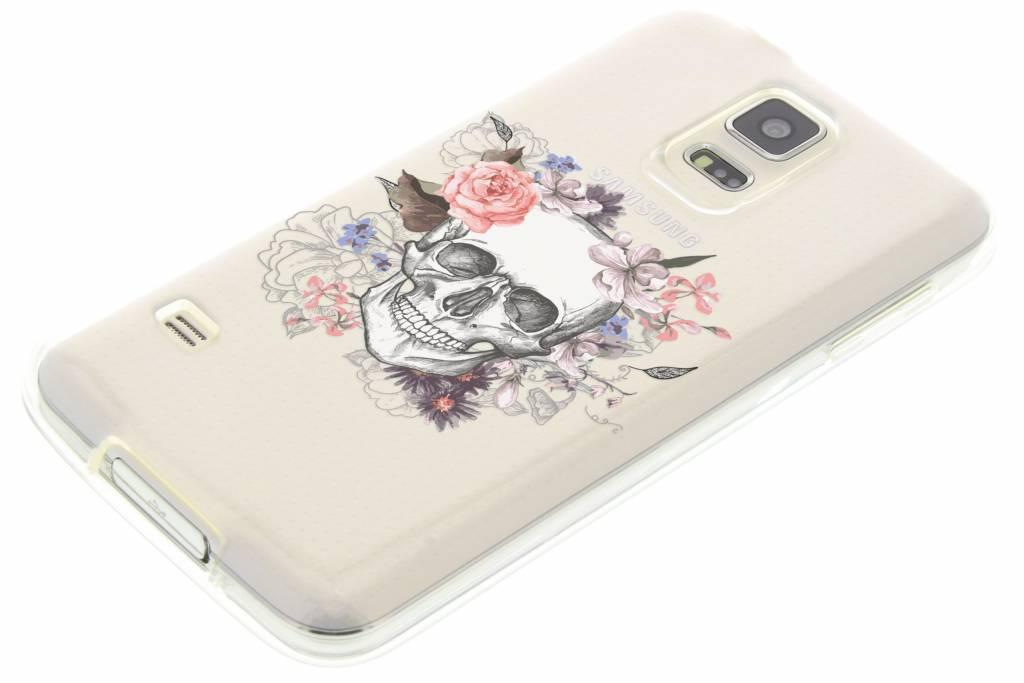 Crâne Conception Cas De Tpu Pour Samsung Galaxy S5 (plus) / Neo 3MTcYA