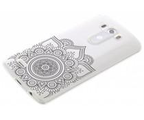 Mandala design TPU hoesje LG G3