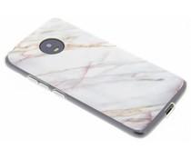 Marmer design TPU hoesje Motorola Moto G5