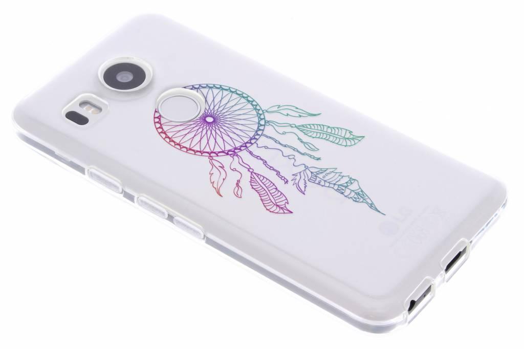 Multicolor dromenvanger design TPU hoesje voor de LG Nexus 5X