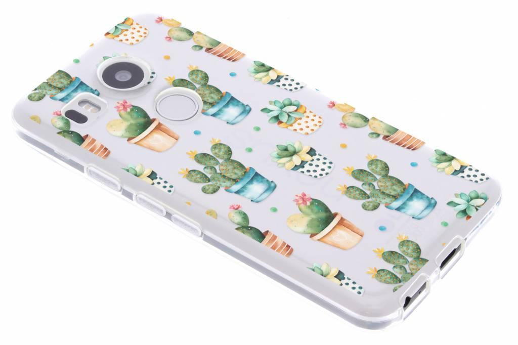 Cactus design TPU hoesje voor de LG Nexus 5X