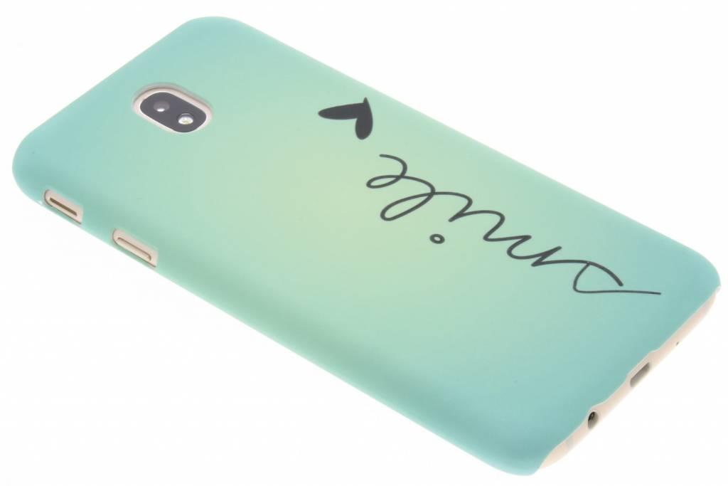 Smile design hardcase hoesje voor de Samsung Galaxy J7 (2017)