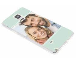 Ontwerp uw eigen Samsung Galaxy Note 4 gel hoesje (bedrukt)