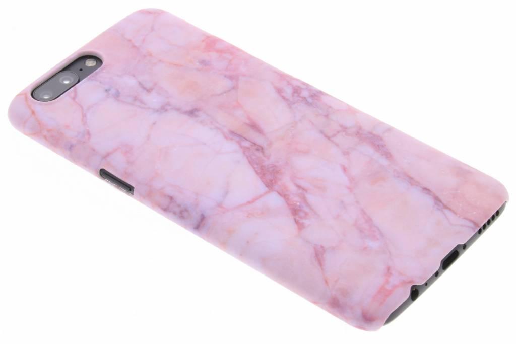 Roze marmer design hardcase hoesje voor de OnePlus 5
