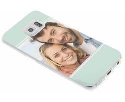 Ontwerp uw eigen Samsung Galaxy S6 Edge gel hoesje (bedrukt)
