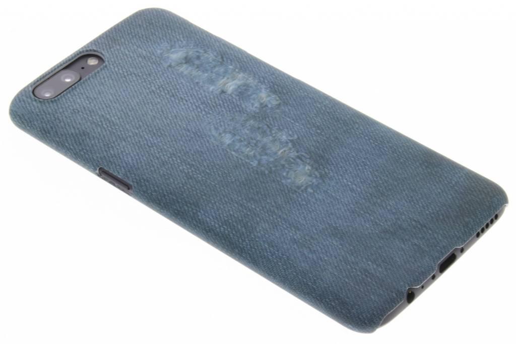 Jeans design hardcase hoesje voor de OnePlus 5