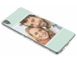 Ontwerp uw eigen Sony Xperia XA gel hoesje (bedrukt)