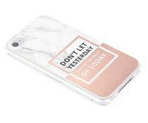 Quote design TPU hoesje iPhone 4 / 4s