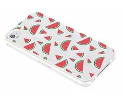 Transparant fruit design TPU hoesje iPhone 4 / 4s