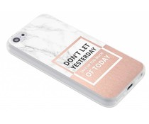 Quote design TPU hoesje iPhone 5c