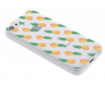 Transparant fruit design TPU hoesje iPhone 5c