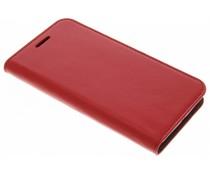 Kreukelleder booktype hoes Motorola Moto G4 (Plus)