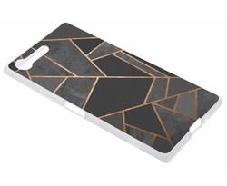 Design TPU hoesje Sony Xperia XZ Premium