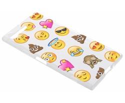 Emoji design TPU hoesje Sony Xperia XZ Premium