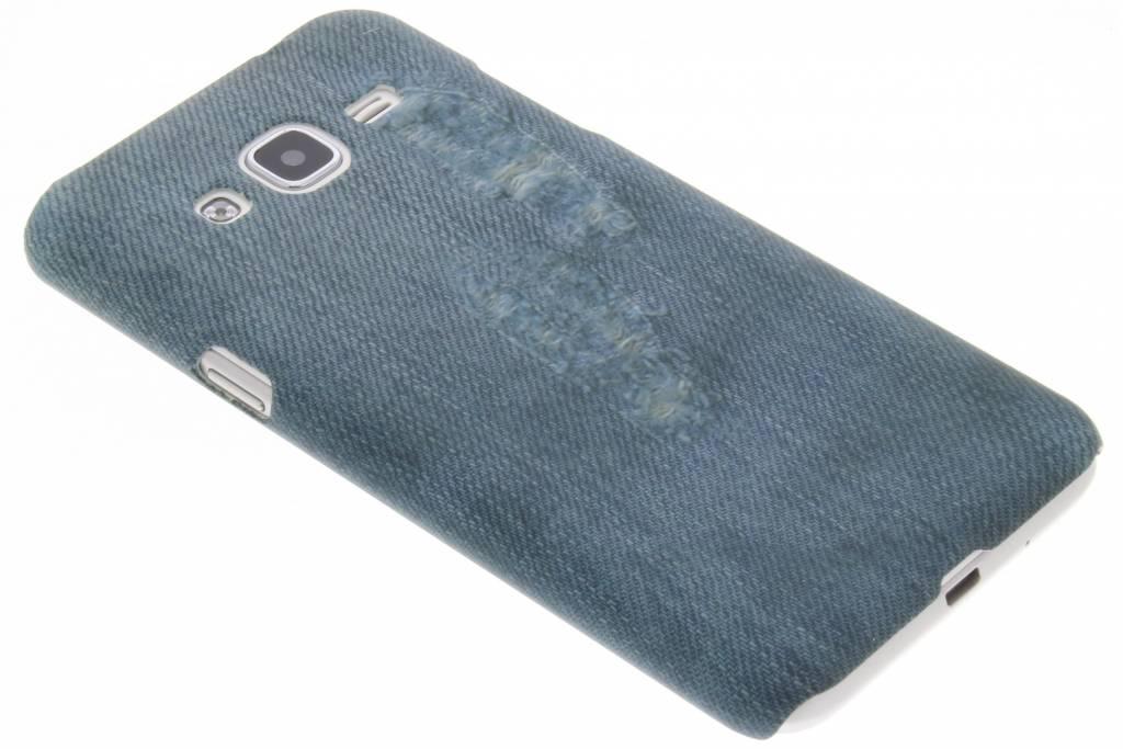 Jeans design hardcase hoesje voor de Samsung Galaxy J3 / J3 (2016)