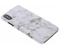 Marmer look hardcase hoesje iPhone Xs / X