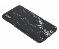 Marmer look hardcase hoesje iPhone Xs / X