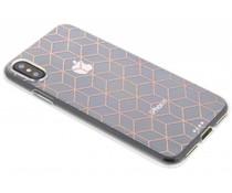 Cubes design TPU hoesje iPhone Xs / X