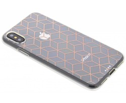 Cubes design TPU hoesje iPhone X