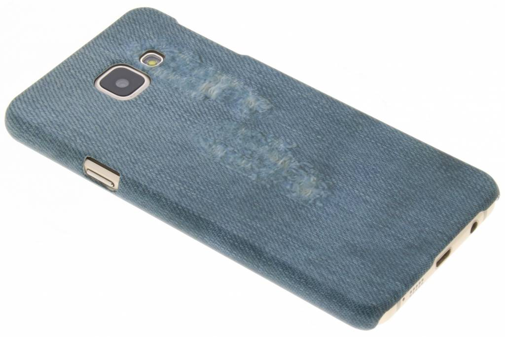 Jeans design hardcase hoesje voor de Samsung Galaxy A3 (2016)