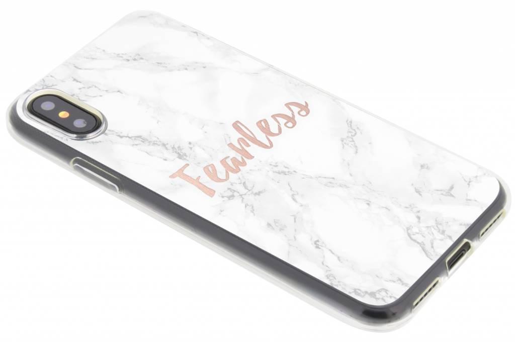 Citation Design En Marbre Tpu Case Pour Motorola Moto Sans Peur G5 KSfJmC