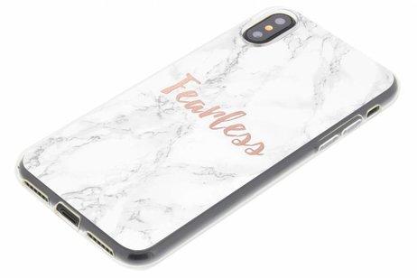 Citation Design En Marbre Cas Sans Peur Tpu Pour Samsung Galaxy S Grand Premier Bq7dAdmcgs