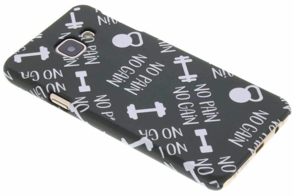 Sport design hardcase hoesje voor de Samsung Galaxy A3 (2016)