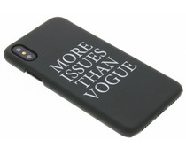 Quote design hardcase hoesje iPhone X