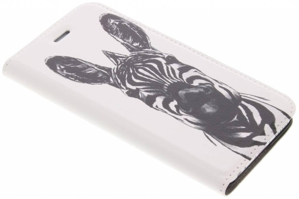 Zebra Design Booklet voor de iPhone 6 / 6s