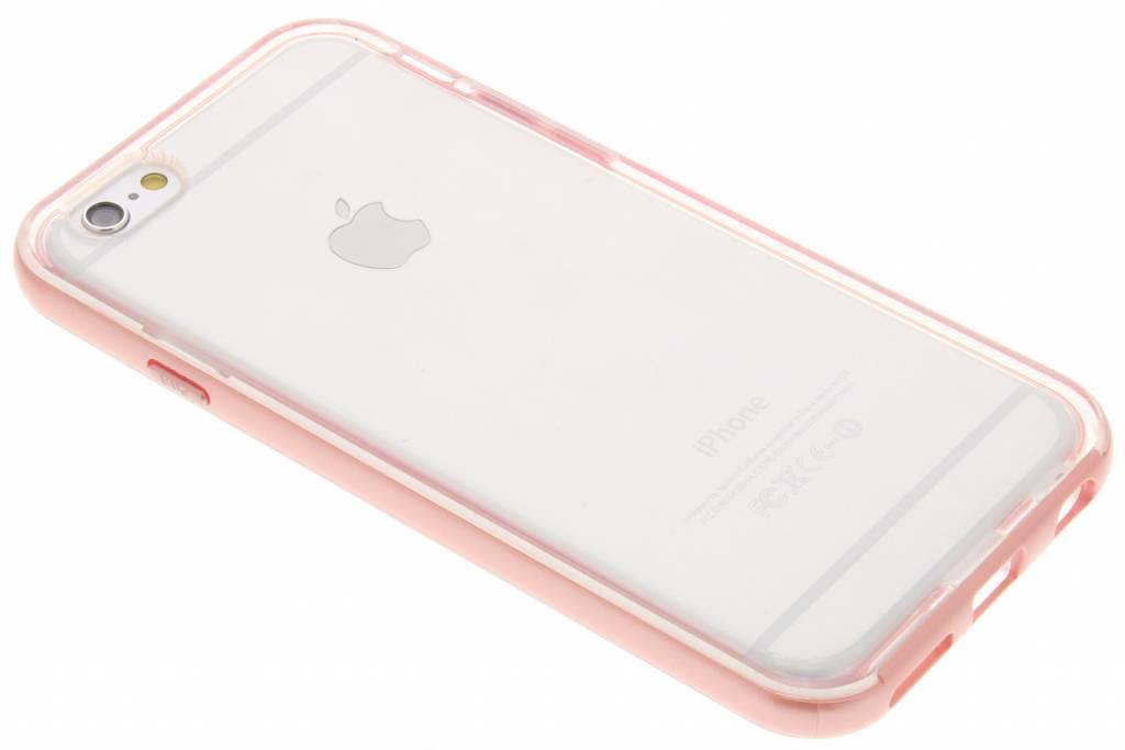 Roze bumper TPU case voor de iPhone 6 / 6s