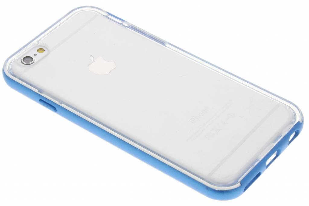 Blauwe bumper TPU case voor de iPhone 6-6s