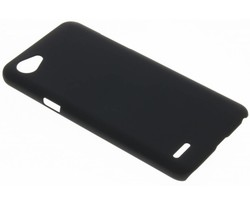 Zwart effen hardcase hoesje LG Q6