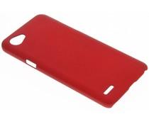 Rood effen hardcase hoesje LG Q6