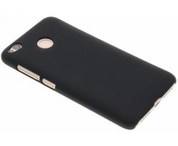 Zwart effen hardcase hoesje Xiaomi Redmi 4X