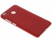 Rood effen hardcase hoesje Xiaomi Redmi 4X