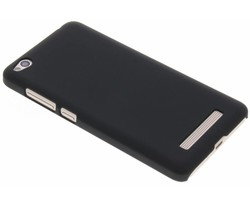 Zwart effen hardcase hoesje Xiaomi Redmi 4a