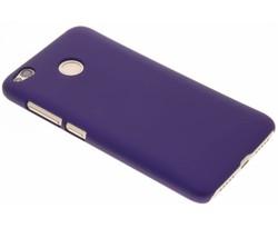 Paars effen hardcase hoesje Xiaomi Redmi 4X