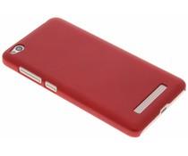 Rood effen hardcase hoesje Xiaomi Redmi 4A