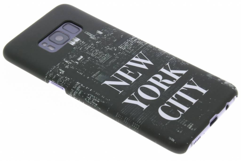 New York design hardcase hoesje voor de Samsung Galaxy S8