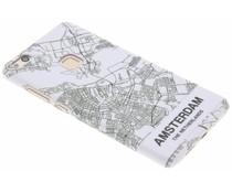 Citymap design hardcase hoesje Huawei P10 Lite