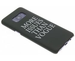 Quote design hardcase hoesje Samsung Galaxy S8
