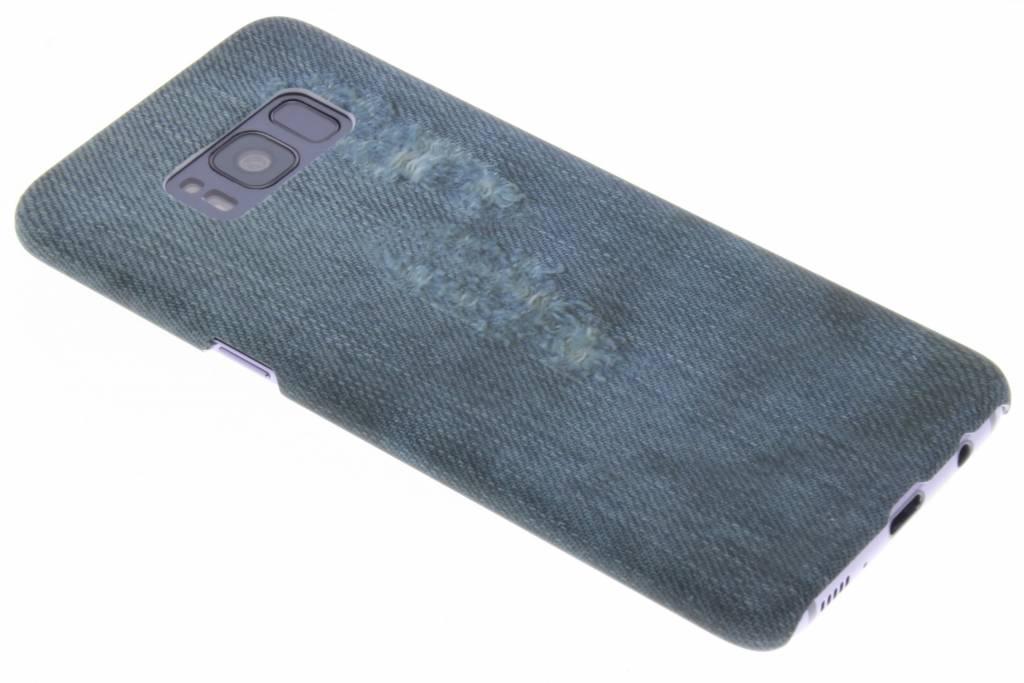Jeans design hardcase hoesje voor de Samsung Galaxy S8