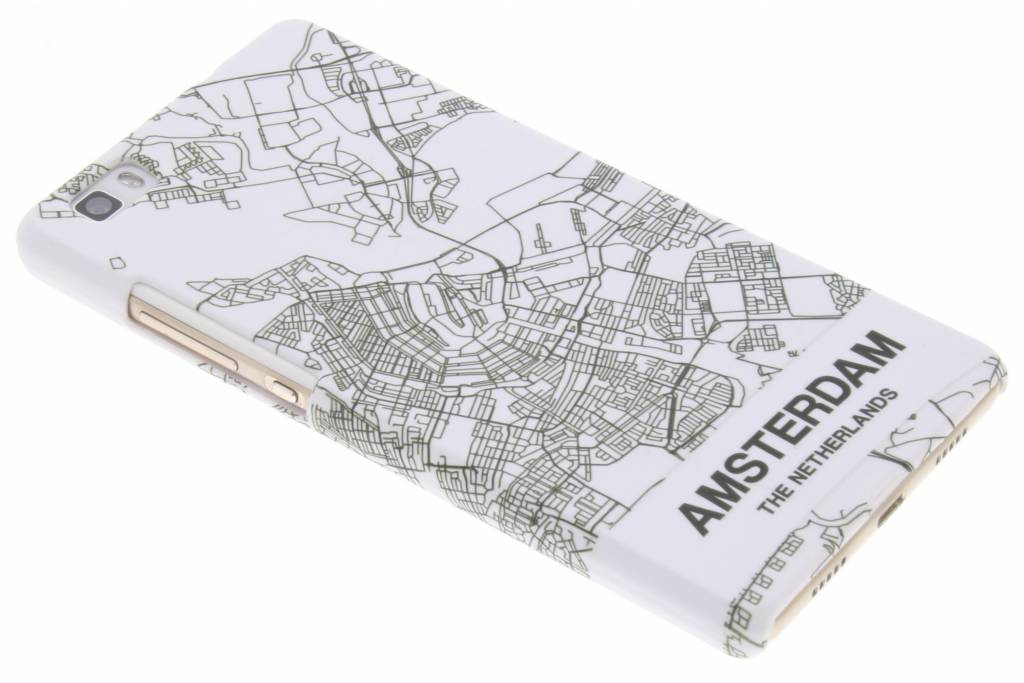 Amsterdam design hardcase hoesje voor de Huawei P8 Lite