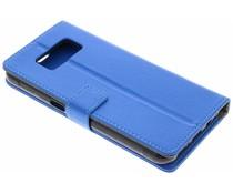 Blauw TPU Bookcase Samsung Galaxy S8 Active
