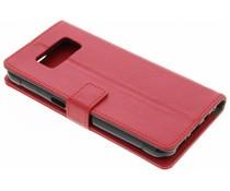 Rood TPU Bookcase Samsung Galaxy S8 Active