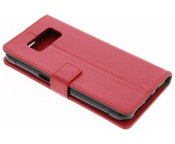 Rood TPU Bookcase Samsung Galaxy S8 Active