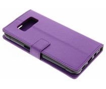 Paars TPU Bookcase Samsung Galaxy S8 Active