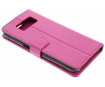 Roze TPU Bookcase Samsung Galaxy S8 Active